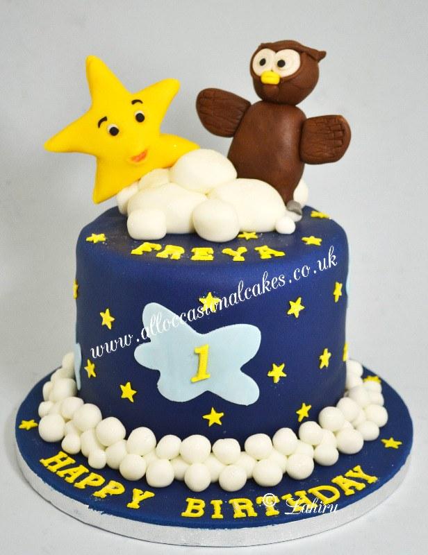 winkle twinkle little star cake