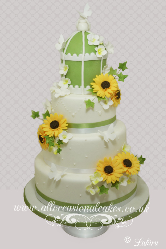 Sunflower Themed Vintage Birdcage Wedding Cake, bristol wedding cakes, cakes pictures, magic wedding cakes,  uk cakes, uk wedding cakes, emersons green wedding cakes, cheap cakes, best cakes, international wedding cakes, international cakes, egg free cakes, egg less cakes, downend cakes, king cakes, downend wedding cakes, colourful cakes, all occasional cakes, cakes for all occasions, tasty wedding cakes, golden wedding cakes, sweet wedding cakes, anniversary cakes, sri lankan wedding,  wedding cakes, england wedding cakes, england cakes, birthday cakes, google cakes, winter cakes, snow cakes, topsy turvy cakes, cascade, cheap cakes, cheap wedding cakes, special wedding cakes, best cakes, uk, cakes, cake, cake makers, weddings, wedding, bristol, bristoluk, bath, bathuk, novelty cake, novelty cakes, unique cake, unique cakes, custom cake, custom cakes, birthday cake, birthday cakes, wedding cake, wedding cakes, corporate cake, corporate cakes, winning wedding cakes, winning cakes, yate wedding cakes, filton wedding cakes, clifton wedding cakes, winterbourne wedding cakes, London wedding cakes, royal wedding cakes, bristol wedding cakes, wedding cakes Bristol, wedding cake Bristol, Asian wedding cakes, indian wedding cakes, expensive cakes, expensive wedding cakes, rich wedding cakes, royal wedding cakes, rich cakes, gold wedding cakes, 24k wedding cakes, tasty wedding cakes, royal wedding cakes, queen wedding cakes, queen birthday cake, king's wedding cakes, Kings birthday cakes, prince wedding cakes, prince birthday cakes, best cakes, love cake, magic cakes, cake, fairy cakes, hot cakes, cupcakes, cupcake cakes, fondant cakes, cupcakes, my ace cakes of uk, cakes Sri Lanka, fab cakes, cakes sri lanka, south Gloucestershire, cake decoration, catering for weddings, Lahiru Peiris,