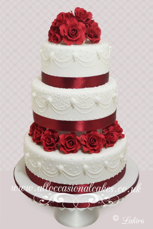 Asian Wedding Cake 6
