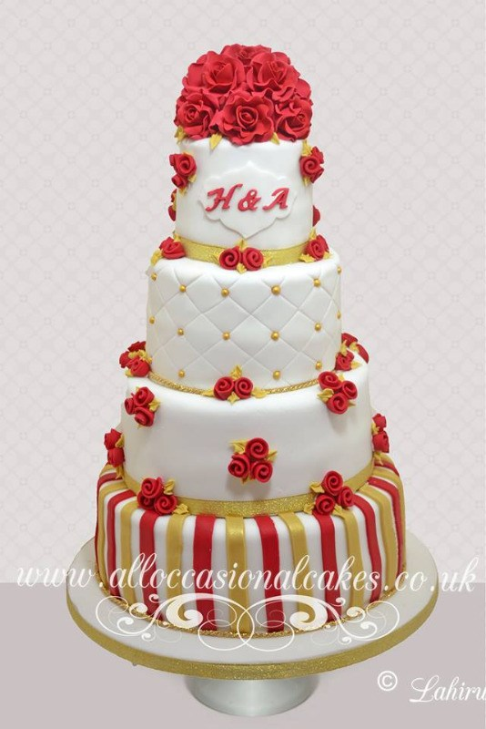 Asian Wedding Cake 8