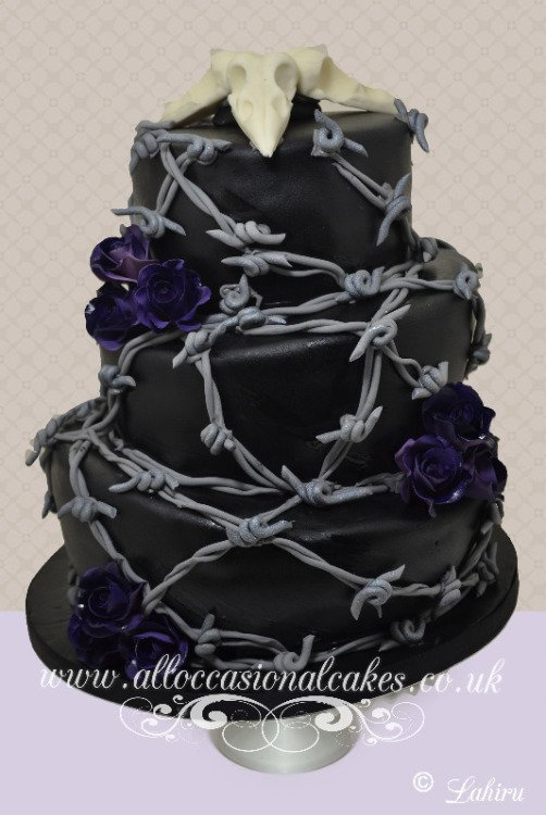 Barb wire crow skull wedding cake, bristol wedding cakes, cakes pictures, magic wedding cakes,  uk cakes, uk wedding cakes, emersons green wedding cakes, cheap cakes, best cakes, international wedding cakes, international cakes, egg free cakes, egg less cakes, downend cakes, king cakes, downend wedding cakes, colourful cakes, all occasional cakes, cakes for all occasions, tasty wedding cakes, golden wedding cakes, sweet wedding cakes, anniversary cakes, sri lankan wedding,  wedding cakes, england wedding cakes, england cakes, birthday cakes, google cakes, winter cakes, snow cakes, topsy turvy cakes, cascade, cheap cakes, cheap wedding cakes, special wedding cakes, best cakes, uk, cakes, cake, cake makers, weddings, wedding, bristol, bristoluk, bath, bathuk, novelty cake, novelty cakes, unique cake, unique cakes, custom cake, custom cakes, birthday cake, birthday cakes, wedding cake, wedding cakes, corporate cake, corporate cakes, winning wedding cakes, winning cakes, yate wedding cakes, filton wedding cakes, clifton wedding cakes, winterbourne wedding cakes, London wedding cakes, royal wedding cakes, bristol wedding cakes, wedding cakes Bristol, wedding cake Bristol, Asian wedding cakes, indian wedding cakes, expensive cakes, expensive wedding cakes, rich wedding cakes, royal wedding cakes, rich cakes, gold wedding cakes, 24k wedding cakes, tasty wedding cakes, royal wedding cakes, queen wedding cakes, queen birthday cake, king's wedding cakes, Kings birthday cakes, prince wedding cakes, prince birthday cakes, best cakes, love cake, magic cakes, cake, fairy cakes, hot cakes, cupcakes, cupcake cakes, fondant cakes, cupcakes, my ace cakes of uk, cakes Sri Lanka, fab cakes, cakes sri lanka, south Gloucestershire, cake decoration, catering for weddings, Lahiru Peiris,