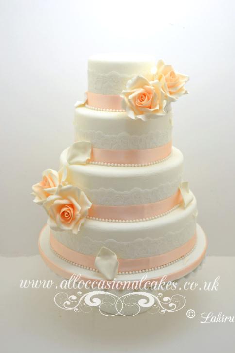 Bristol Cakes Bristol Wedding Cakes Rose Cascade Downend Cakes Winterbour