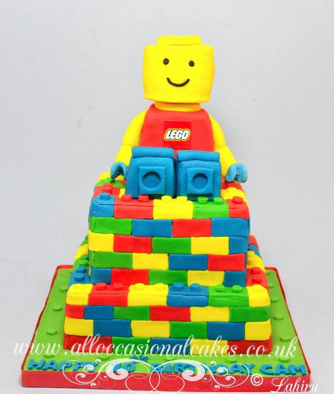 masha and the bear themed birthday cake