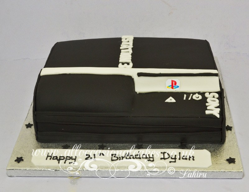 x box birthday cake