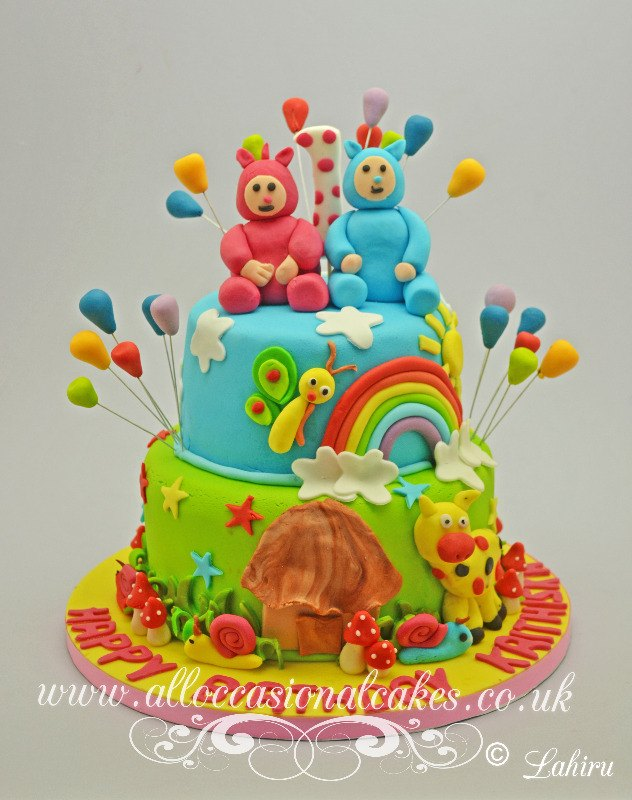 billy bam bam baby tv themed birthday cake
