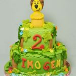 jungle theme cake 5