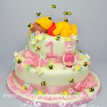 winnie the pooh and piglet birthday cakes