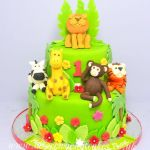 jungle themed cake 5