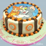 tom and jerry edible picture cake