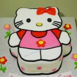 hello kitty birthday cake 1