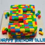 lego no 5 birthday cake
