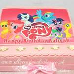 my little pony picture cake