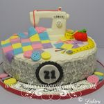 swing machine cake