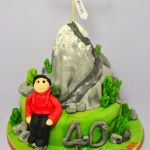 everest mountain climbing cake