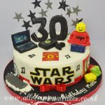 gaming themed cakes