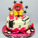 music themed cake 10