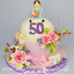 netball wit multi interest birthday cake