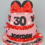 disney themed 30st birthday cake
