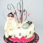 elvis presley themed cake