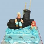 submarine with popeye cakes