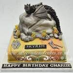 SKYRIM Birthday cake