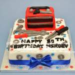 mechanic tool box birthday cake