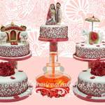 Asian Wedding Cake 9