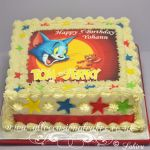 tom & jerry edible photo cake