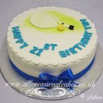 tennis racket cake from £ 50
