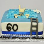 man in a pool cake from £65