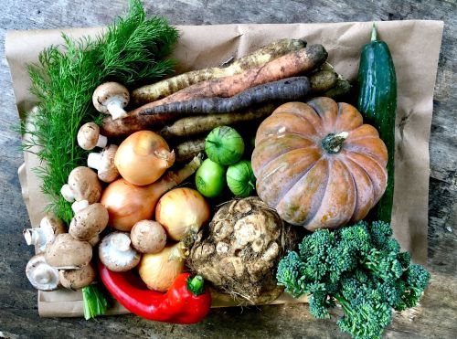 VEG BOX selection NOV 2018