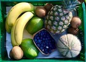 NEW box Tropical Box Selection of Fruits May 19