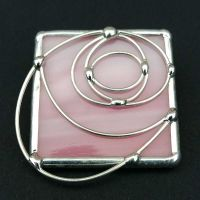 Charles Rennie Mackintosh Brooch