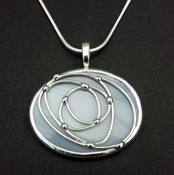 Oval Rose Pendant