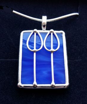 Charles Rennie Mackintosh Double Rose Bud Pendant