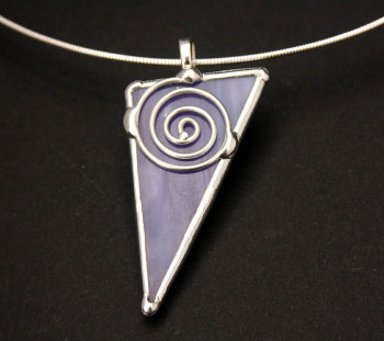 Celtic Single Spiral Pendant