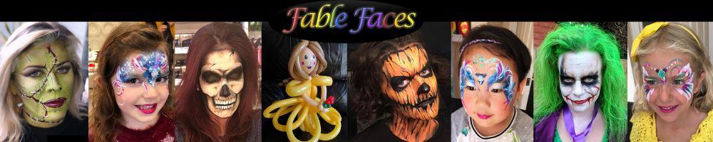 fablefaces, site logo.