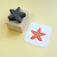 Starfish Rubber Stamp