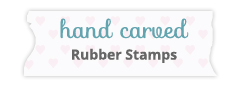 hand carved rubber stamps