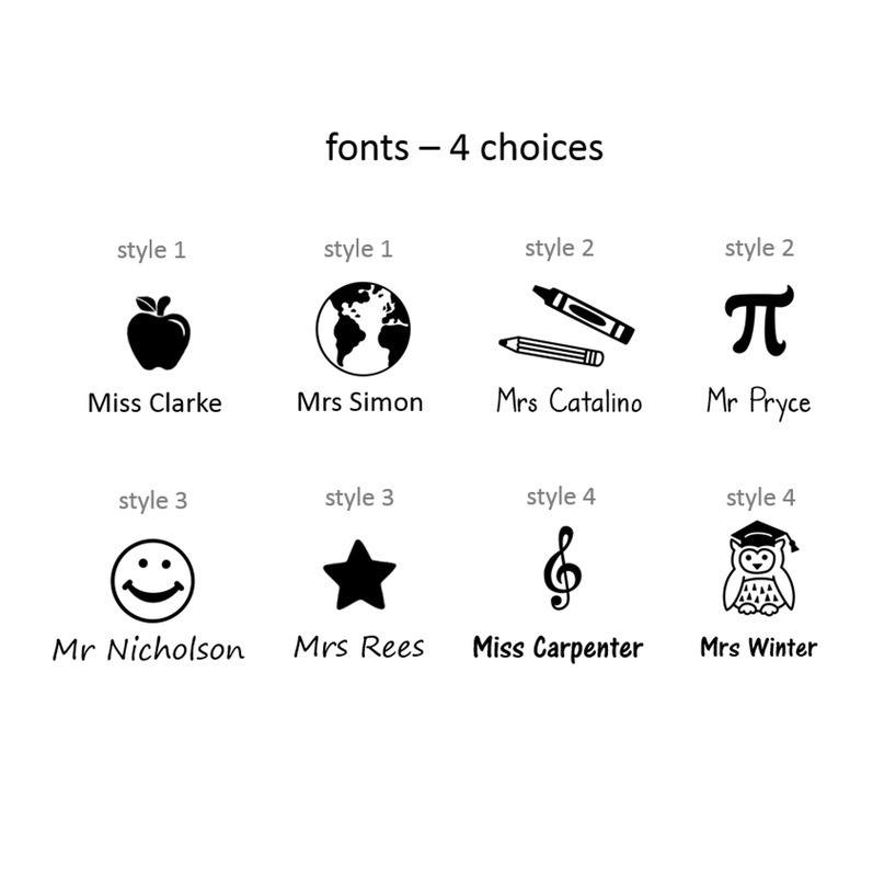 teacherstampfont