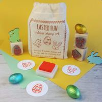 Easter Fun Rubber Stamp Set