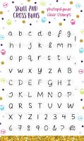 Alphabet Clear Rubber Stamp Set