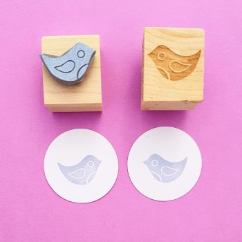 Mini Birds Rubber Stamps
