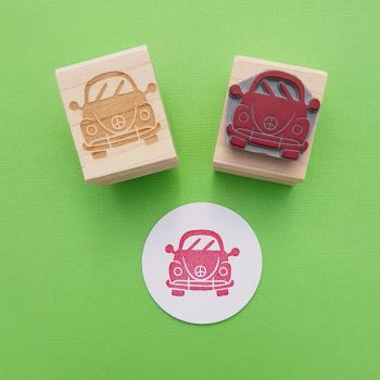 Peace Bug Rubber Stamp