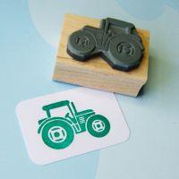 Mini Tractor Rubber Stamp