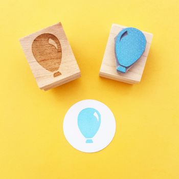 Balloon Rubber Stamp