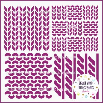 Knitting Pattern Large Stencil