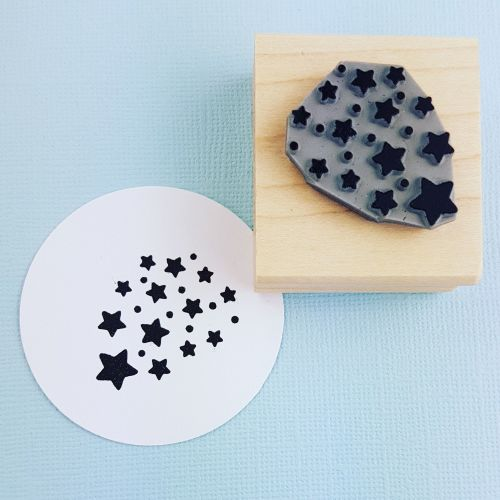 Starburst Rubber Stamp