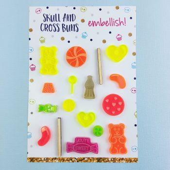 Retro Sweets Embellish! Set 2