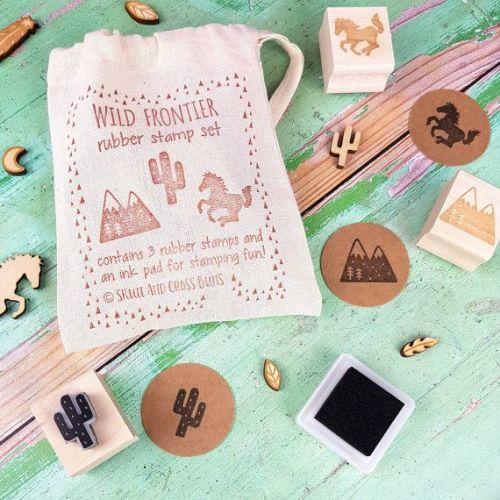 Wild Frontier Rubber Stamp Set